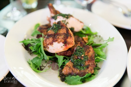 jw chicken & salsa verde | Photo: Nick Lee